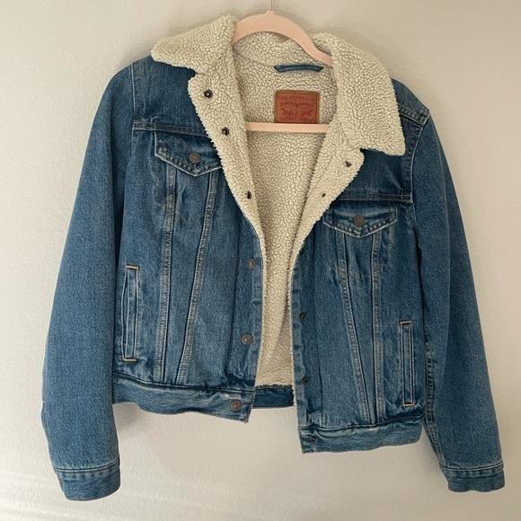 Vintage Levi trucker jacket